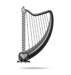The image of a musical instrument vector