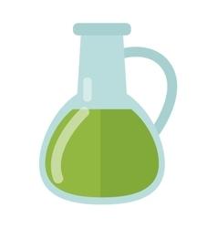 Carafe with liquid vector
