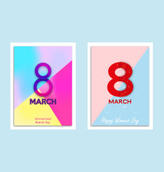 8 march march eight march vector
