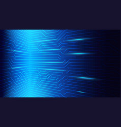 Blue circuit server bord background technology vector