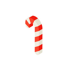 candy cane isometric object vector image