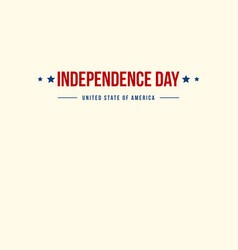 Collection stock banner independence day vector