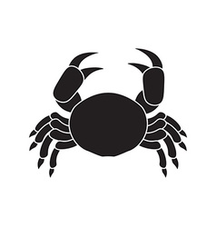 Icon crab vector