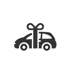 New car icon vector