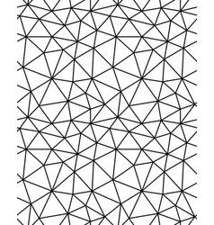 seamless polygonal mosaic vector image