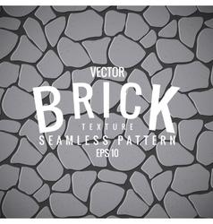 seamless texture stone brick vector image