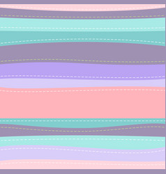 cute striped seamless pattern vector image vector image