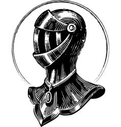 Medieval Shield vector image