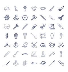 49 sharp icons vector