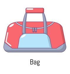 bag sport icon cartoon style vector image