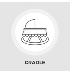 Cradle Flat Icon vector