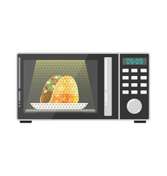 icon for web microwave oven vector image