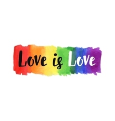 Love is love vector image