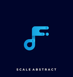 scale speed template vector image