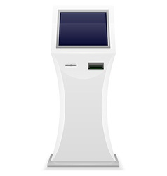 Terminal for receiving payments 01 vector