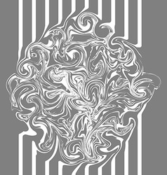 Abstract texture marble gray with wavy design vector