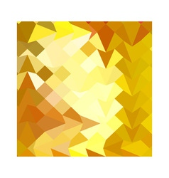 Amber Yellow Abstract Low Polygon Background vector