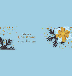 Background xmas and new year vector