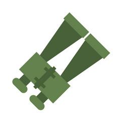 Binoculars look zoom observe vector