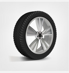 car wheel image vector image