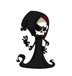 Cartoon or grim reaper vector