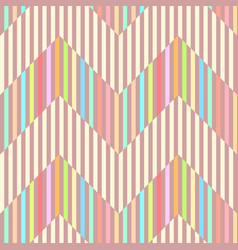 Geometric seamless pattern background with stripe vector