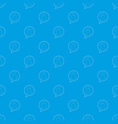 Information pattern seamless blue vector