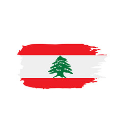 Lebanese flag vector