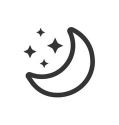 Moonlight icon vector