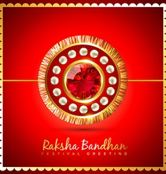 Raksha bandhan background vector