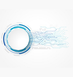 technology concept background with wire mesh and vector image