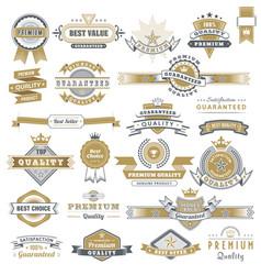 vintage sign frames old decorative frame design vector image