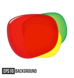 Abstract Background For Text Traffic Light eps10 vector image