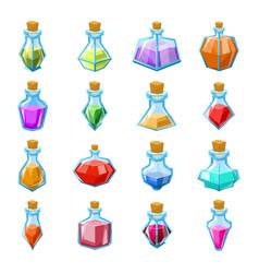 alchemy witch magic beverage elixir potion poison vector image