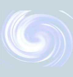 bright rainbow swirl background blue rays of vector image