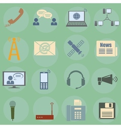 communication vector image vector image