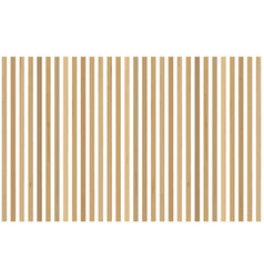 Accent wall in interior vertical wooden planks vector