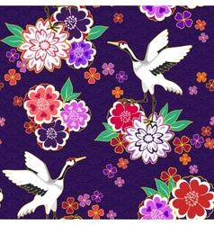 Decorative kimono pattern vector