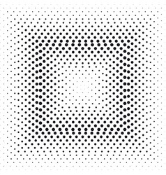Halftone effect square vector