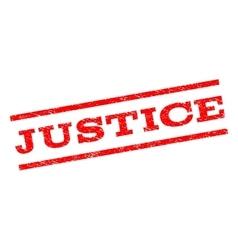 Justice Watermark Stamp vector image