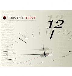 Time concept illustration vector