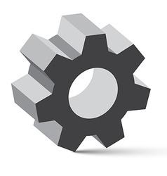 Cog - Gear vector image