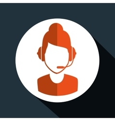 Technical support service icon vector