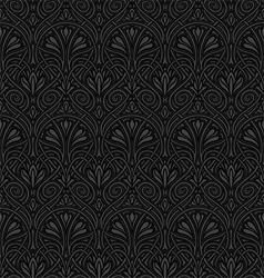 Seamless Art Nouveau pattern vector image vector image