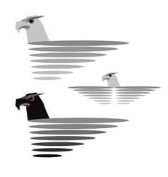 Eagle format vector image