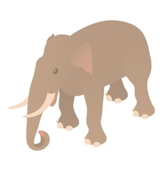 Elephant icon cartoon style vector image vector image