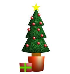 Arbol navidad christmas tree sapin noel vector