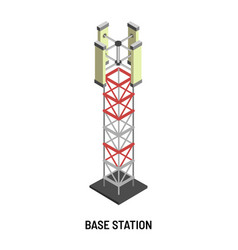 Base station antenna and signal transmission vector