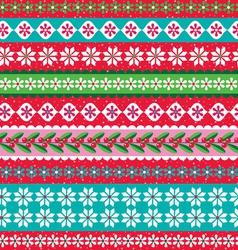 Christmas stripe vector
