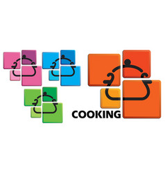 cooking symbol vector image